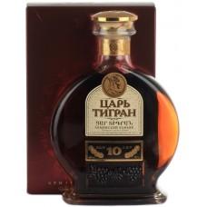 Cognac Tsar Tigran 10YO 0.5 Gift Box