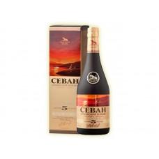 Cognac Tsar Tigran 5* 0.5 Gift Box