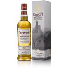 Dewar's White Label gift box 1l