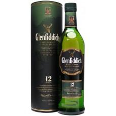 Glenfiddich Malt Scotch Whisky 12 Y.O. Tube 0.75