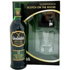 Glenfiddich 12 YO Single Malt Scotch Whisky with 2 glassеs 0.75