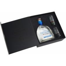 Gran Orendain Blanco 0.75 gift box with 2 glasses