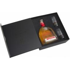 Gran Orendain Reposado 0.75 gift box with 2 glasses