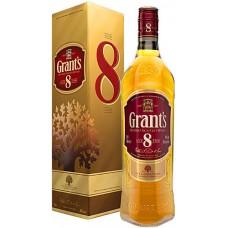 Grant's Aged 8YO Blended Scotch Whisky 0.7 Gift Box
