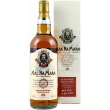 Mac Na Mara Unchilfiltered Rum Finish 0.7 gift box