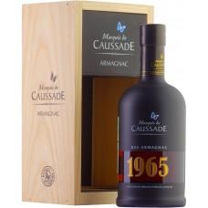 Marquis de Caussade 1965 0.7 wooden box