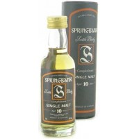 Springbank 10 years old 0.05 gift box