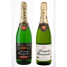 Российское шампанское 0,75 (брют, сухое, полусухое, полусладкое,